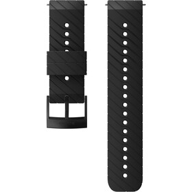 Suunto Athletic 3 Silicone Strap, black/steel